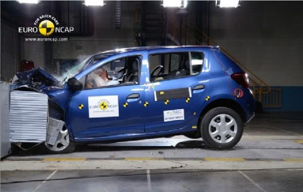 El nuevo Dacia Sandero suma mayor seguridad y obtiene 4 estrellas en la EuroNcap