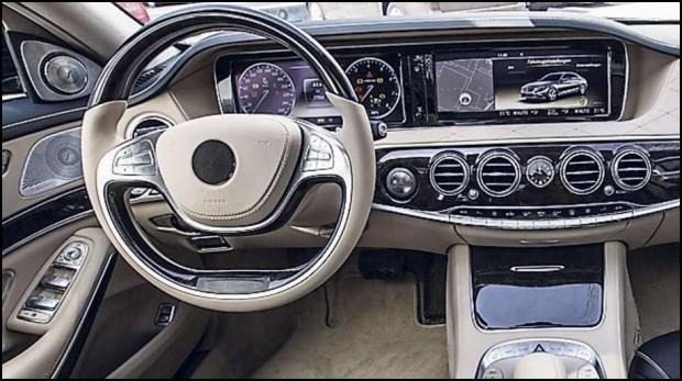 Mercedes Benz Clase S, primeras fotos del interior
