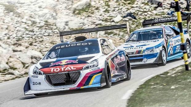 El Peugeot 208 T16 Pikes Peak se somete a pruebas en la Montaña Ventoux en Francia [video]