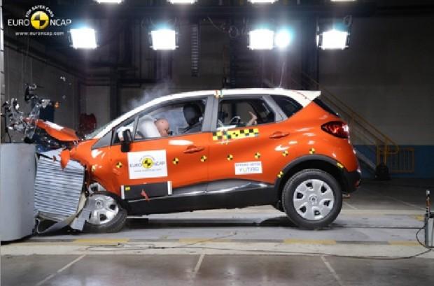 El Renault Captur obtiene 5 estrellas en las pruebas de la EuroNcap