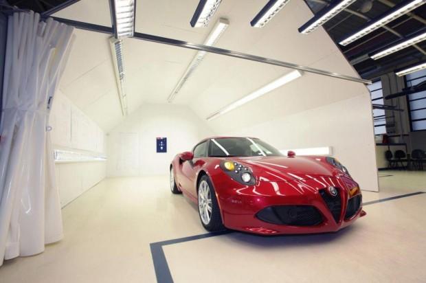 Alfa Romeo revela detalles de producción del Alfa Romeo 4C