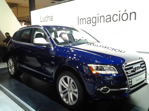Audi SQ5, Avant Premiere en el Salón de Buenos Aires