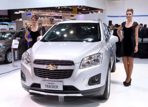 Chevrolet Tracker, disponible a partir del mes de Agosto