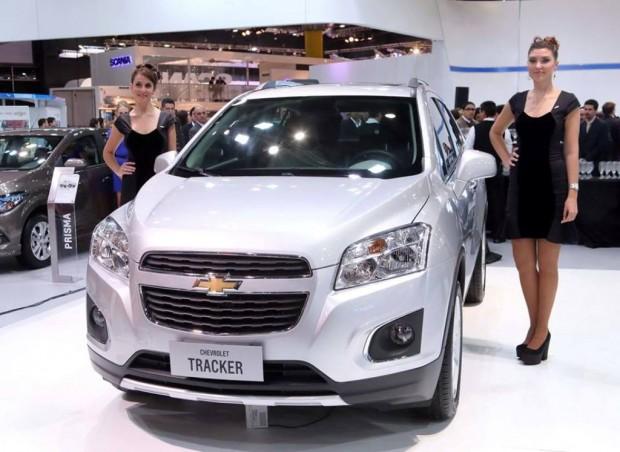 Chevrolet Tracker, disponible a partir del mes de Agosto