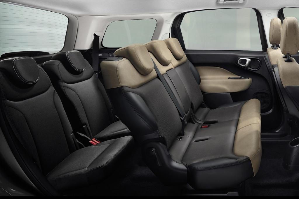 fiat 500l living con capacidad para 7 pasajeros mundoautomotor. Black Bedroom Furniture Sets. Home Design Ideas