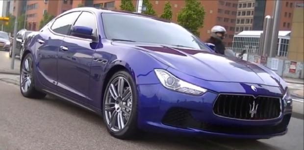 Maserati Ghibli, en video