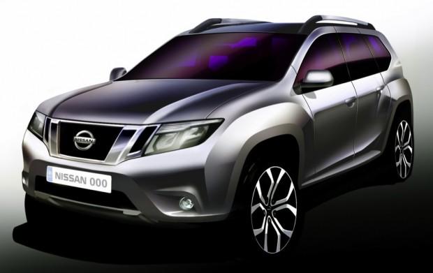 Teaser Oficial del Nissan Terrano basado en el Duster