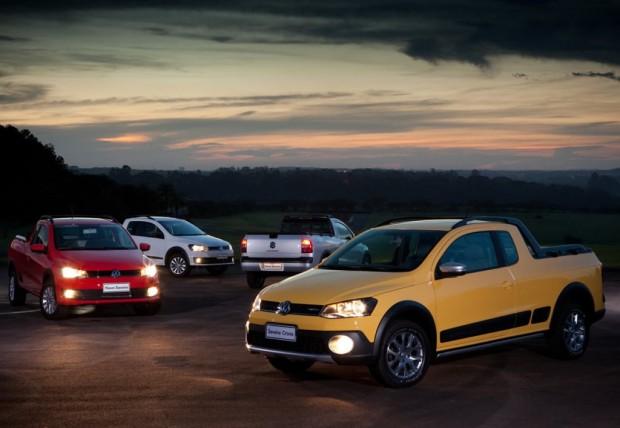 Nueva Volkswagen Saveiro 2014 en el salón de Buenos Aires