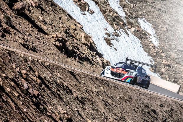 Primer entrenamiento de Sebastien Loeb en el Pikes Peak en video