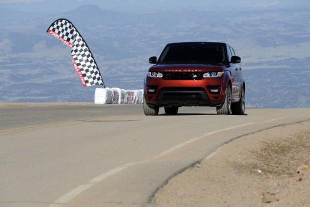El Range Rover Sport 2014 establece un nuevo record en Pikes Peak