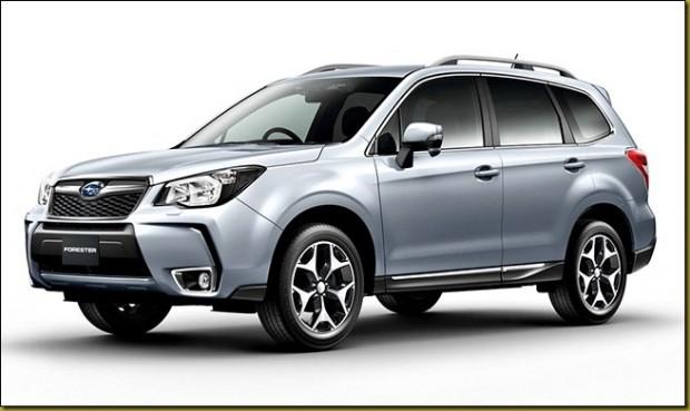 El Subaru New Forester llegará en el último trimestre de 2013