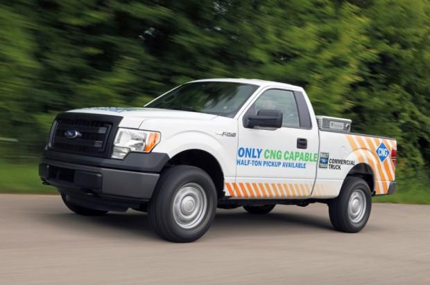 Ford F-150 con opción GNC de fábrica