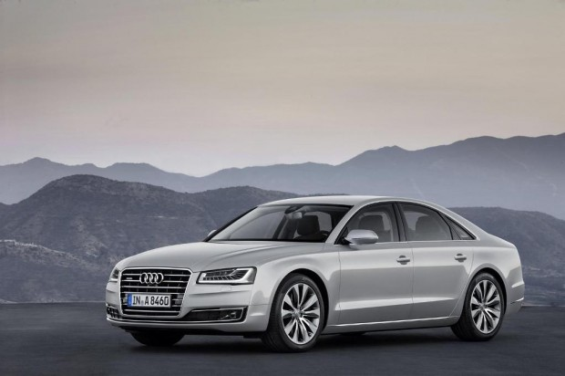 Audi A8 gama 2014