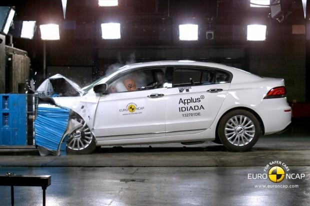 Qoros 3 Sedán, 5 Estrellas en el EuroNCAP