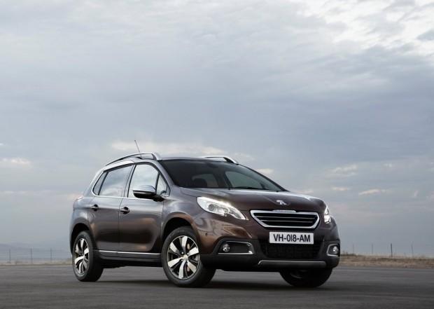 El Peugeot 2008 obtuvo las 5 estrellas de la EuroNcap
