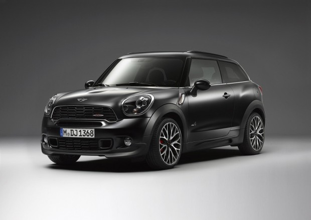 Mini Paceman y Countryman Frozen Black