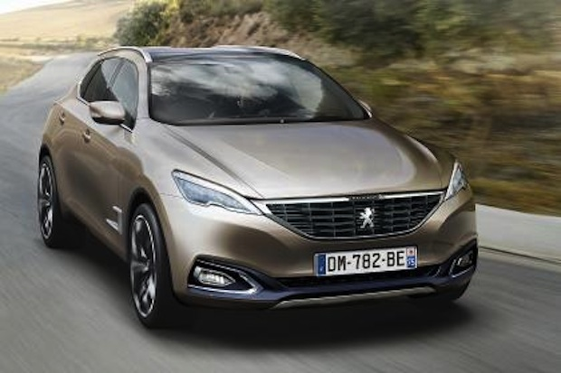 Peugeot 6008 en Desarrollo