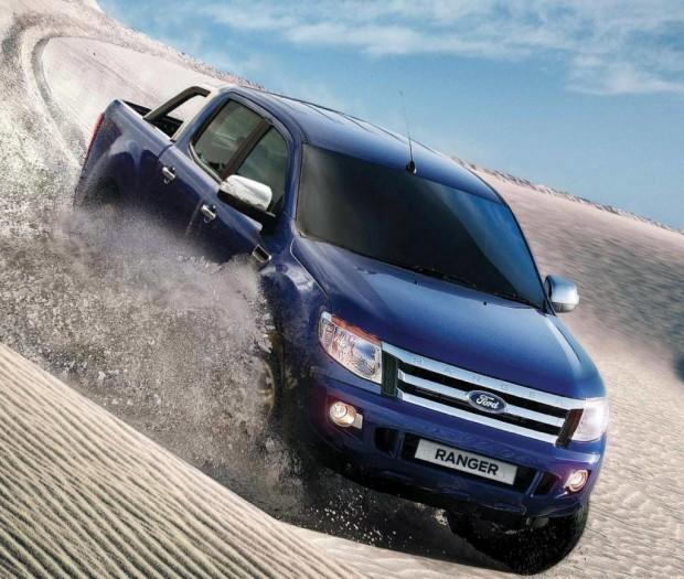 La nueva Ford Ranger incorpora equipamiento de seguridad activa y pasiva en todas sus versiones