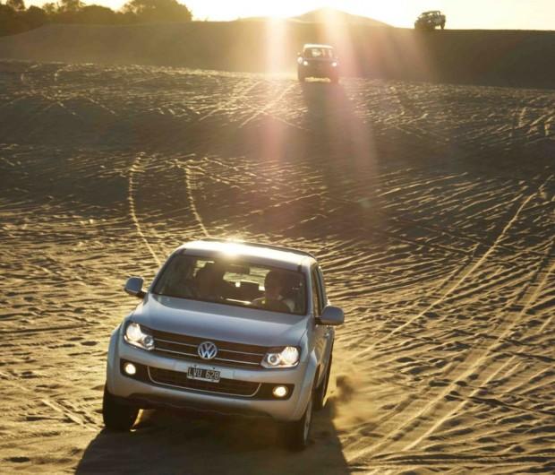 Verano Amarok, Beach Polo y Test Drive en la costa