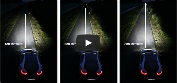 Video: Como Funcionan las Luces Laser en el BMW i8