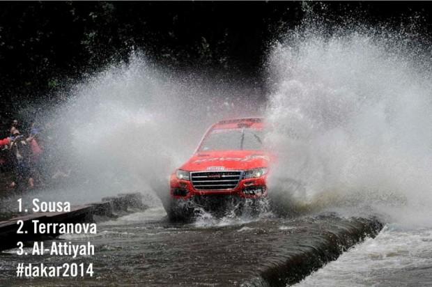 El Haval H8 es el ganador de la primera etapa del Rally Dakar 2014