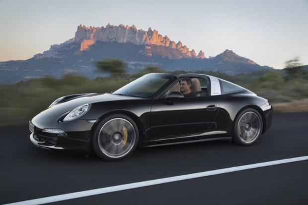 Nuevo Porsche 911 Targa 4 y Targa 4S