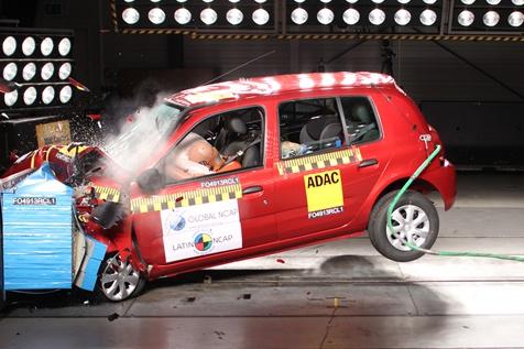 LatinNCAP: Renault Clio Mio Recibe 3 Estrellas