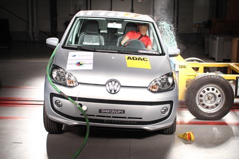 Volkswagen Up! Fabricado en Brasil Recibe 5 Estrellas del LatinNCAP