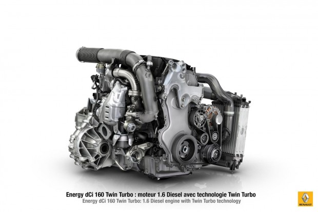 Renault presenta un nuevo motor diesel de 1.6 litros twin turbo de 160CV