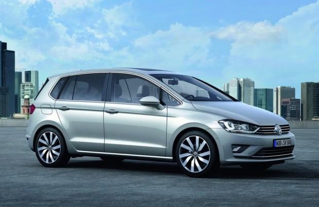 El Volkswagen Golf Sportvan sale a producción