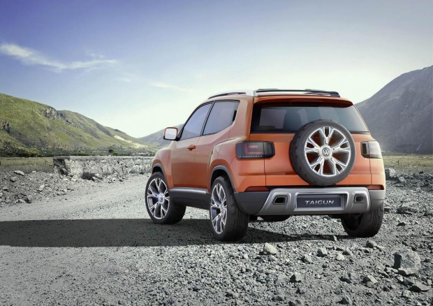 El Volkswagen Taigun se presenta en el Salón de la India con algunos cambios exteriores