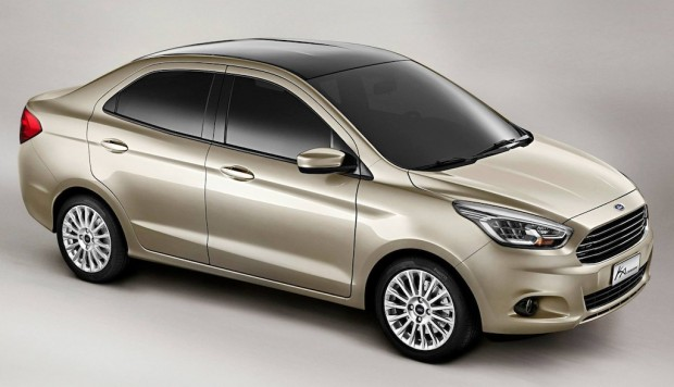 Nuevo Ford Ka Sedán