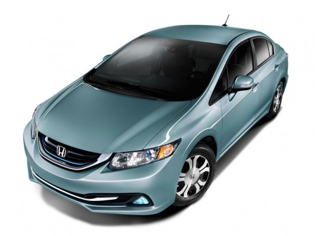 Honda Civic Hybrid y Gas Natural 2014