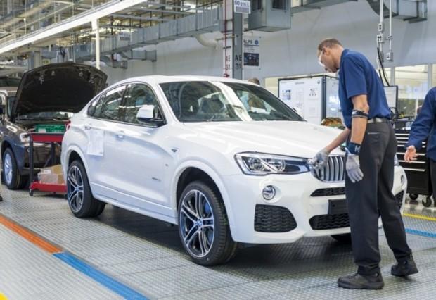 BMW inicia la producción del BMW X4