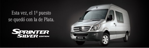 Mercedes Benz Sprinter Silver Edition