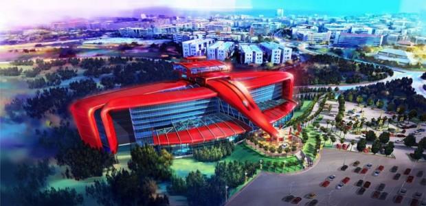 Ferrari en Barcelona, Con Un Nuevo Parque Temático