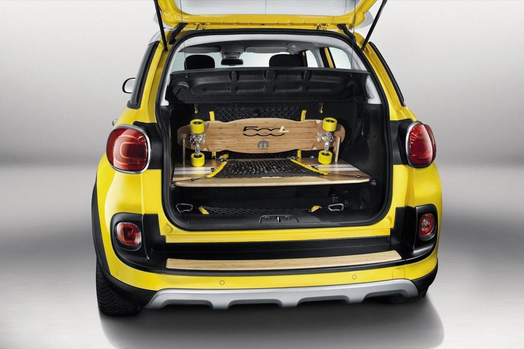 fiat 500l trekking street surf mundoautomotor. Black Bedroom Furniture Sets. Home Design Ideas