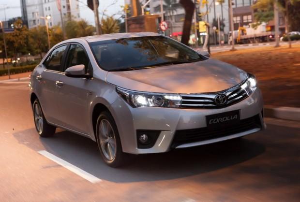Nuevo Toyota Corolla, Presentado en Brasil