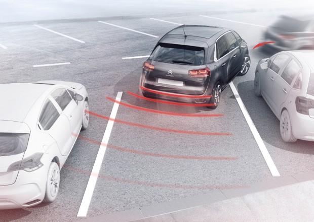 El Sistema de Visión 360º y park assist del nuevo Citroen C4 Picasso
