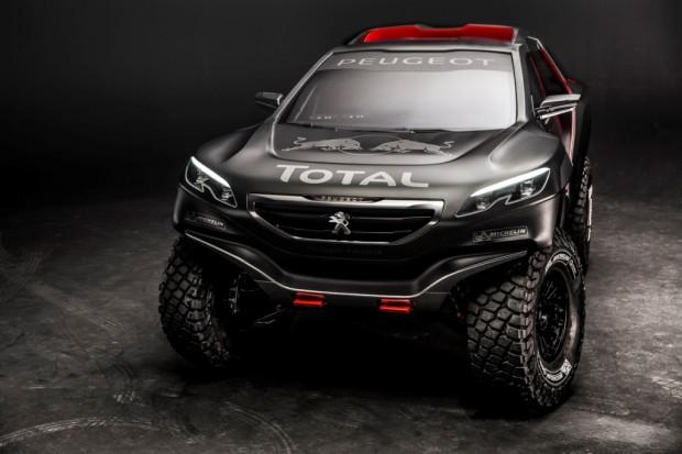 Peugeot 2008 DKR, la propuesta de Peugeot para el Dakar 2015