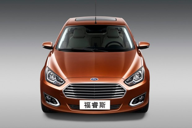 Nuevo Ford Escort, para China