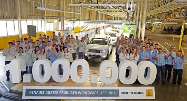 Renault Duster, 1.000.000 de Vehículos Fabricados
