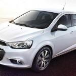 Chevrolet Aveo 2015, Se Presenta en China