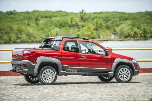 Nueva Fiat Strada en Argentina, Nuevo Diseño, 3 puertas y Más Capacidad de Carga