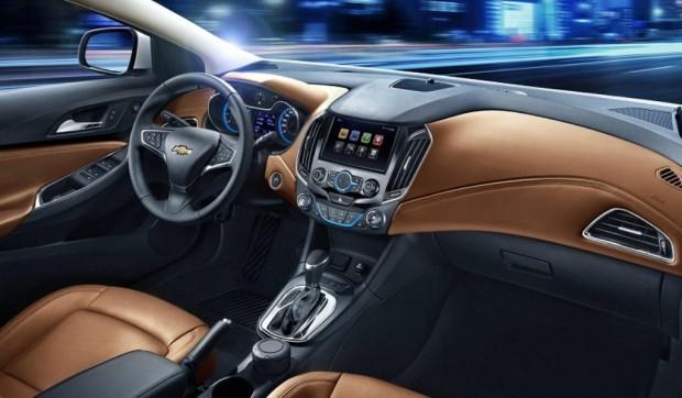 Chevrolet revela el interior del nuevo Cruze 2015