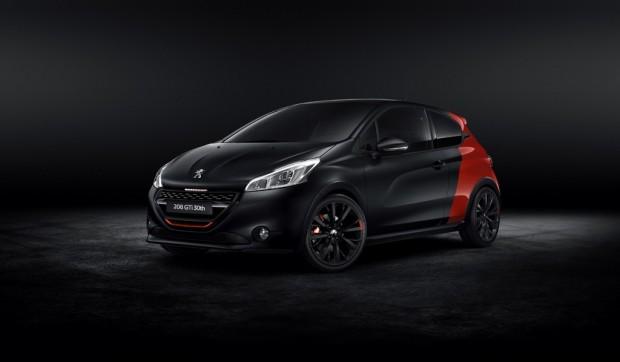 Peugeot 208 GTi edición aniversario con 208hp de potencia
