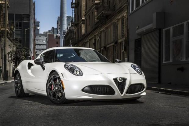 Alfa Romeo 4C 2015 para Norteamérica