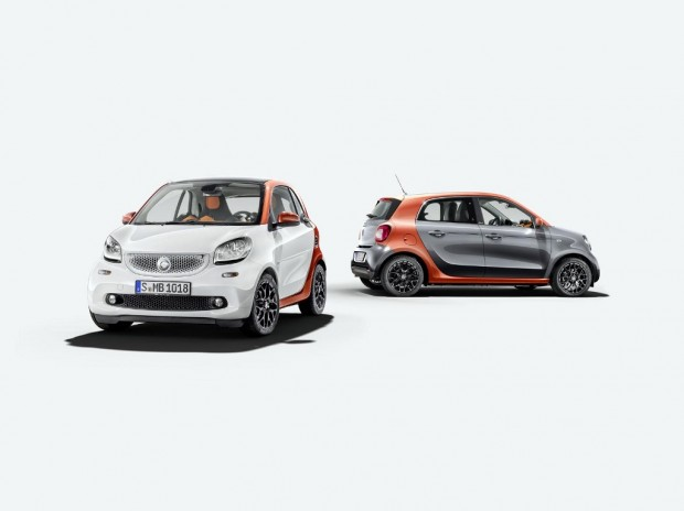 Nuevo Smart Fortwo y ForFour 2015