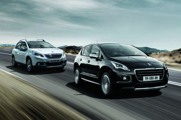 Peugeot 2008 y 3008 Crossway Edition