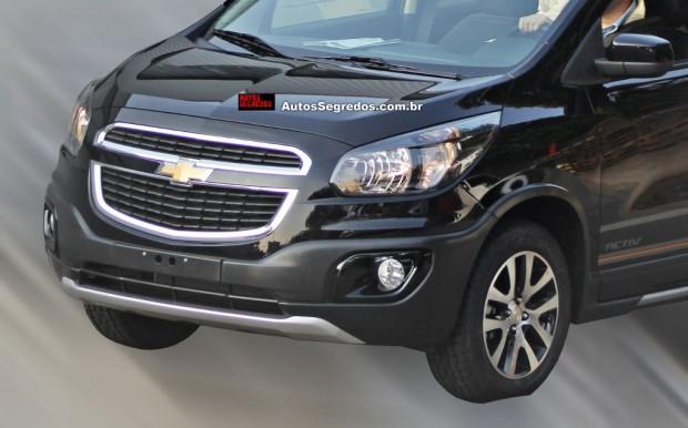 Chevrolet Spin Activ, la versión aventurera de la Minivan de Chevrolet